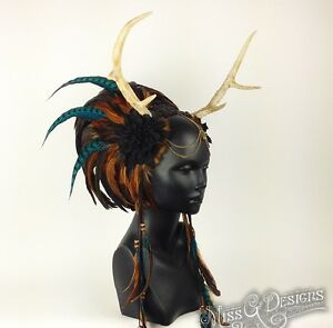 Miss G Designs Feather Headdress