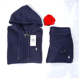 Ralph Lauren Mens Navy Tracksuit Brand New Size Large