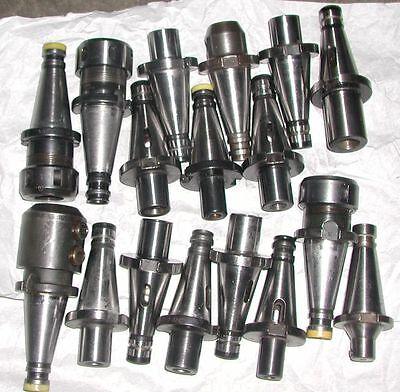 Werkzeugaufnahmen SK40 DIN 2080  17 Stück gebraucht