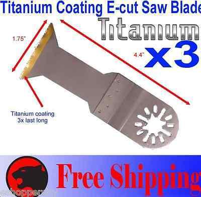 Ti E-cut Oscillating Multi Tool Saw Blade Dremel Mm20 Craftsman Chicago Ridgid