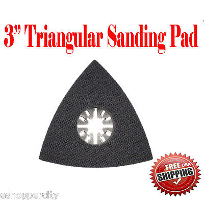 Oscillating Multitool Sanding Pad 3 Sand For Craftsman Nextec Milwaukee Fein