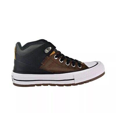 Converse Chuck All Star Street Big Kids'-Men's Shoes Chestnut Brown 161469C