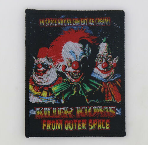 PATCH - Killer Klowns From Outer Space - Horror Chiodo Brothers 80s cult comedy