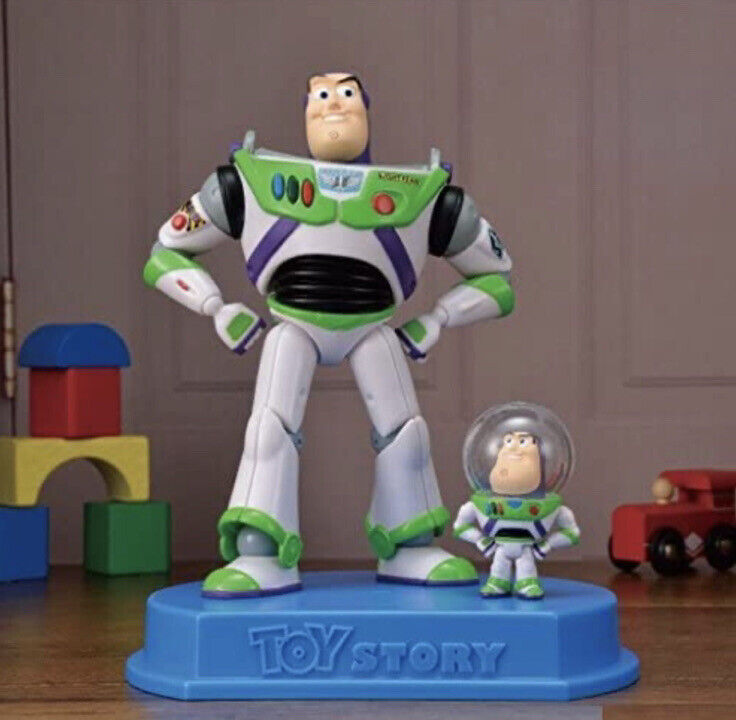 Disney Toy Story Buzz & Mini buzz 20th Anniversary Premium figure
