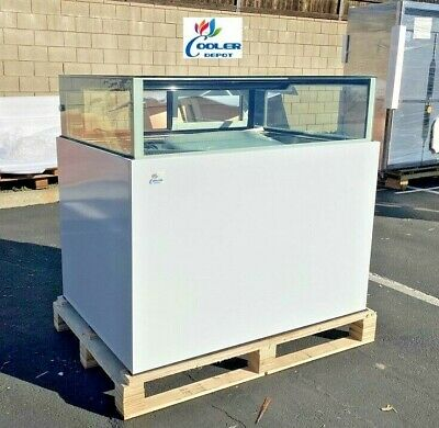 New 48 Cooler Case Bakery Refrigerator Display Boutique Luxurious Nsf Etl