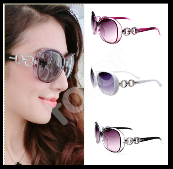 Neu Damen Sonnenbrille Retro Oversized UV400,Retro Sunglasses, Sonnenbrille