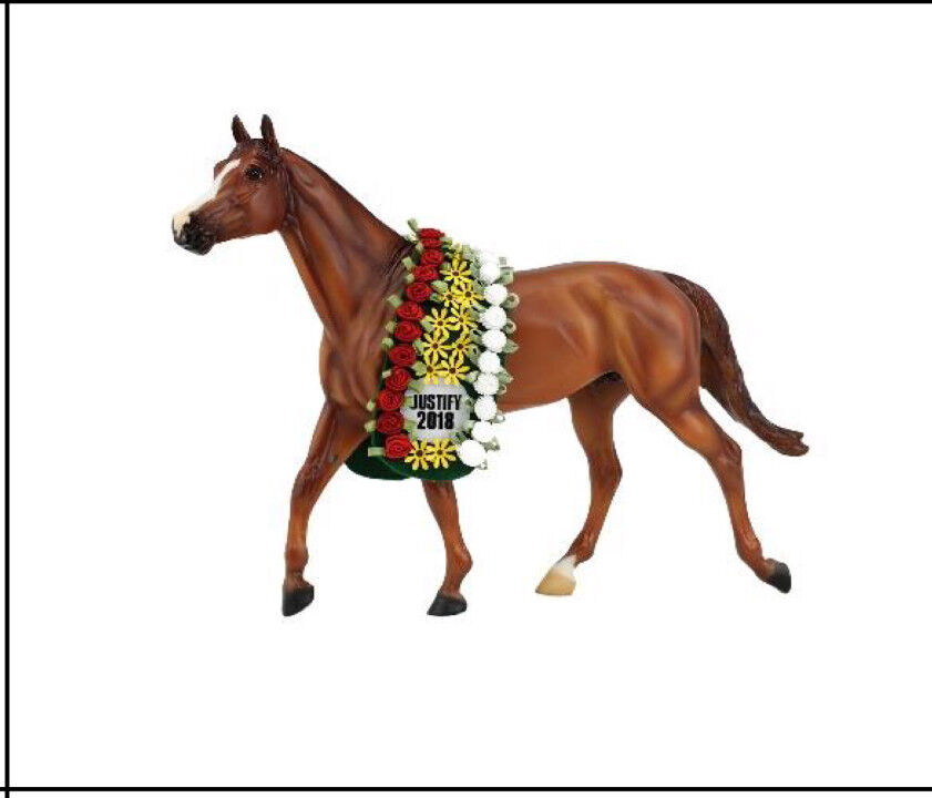 """Breyer Horse """"Justify"""" Traditional Horse/free Justify stablemate with purchase"""