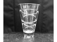 John Rocha Waterford Crystal 6 inch Vase