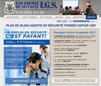 SUMMER JOBS AVAILABLE  - $17.10/H FOR TRAINED SECURITY GUARDS