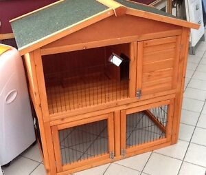 Double Story Rabbit Hutch as new - #85467 Hectorville Campbelltown Area Preview