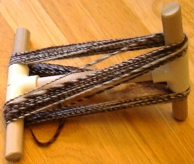 Handmade Small Niddy-Noddy Measures For 1 Yard~Folds For Travel~Nice Poplar Wood
