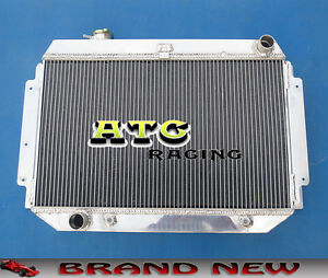 56mm 3 Core Aluminum Radiator for HOLDEN KINGSWOOD/TORANA HQ HJ HX HZ V8