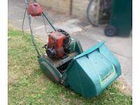 Qualcast Petrol Cylinder Lawn Mower