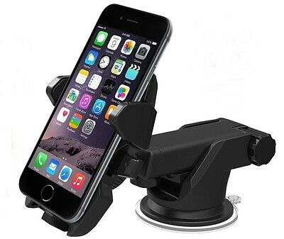 All-embracing Car Windshield Dash Mount Mobil Cell Phone Holder for iPhone 6 7 Extra