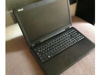 laptop assus 3gb of ram and 250 gb hard drive wind 7