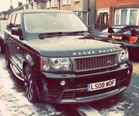 Range Rover Sport TDV8 3.6 HST *WARRANTY* Black, stunning car. Not Vogue, HSE, Overfinch, Kahn