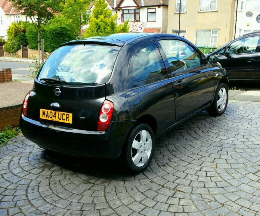nissan micra 2004 automatic 1 2 petrol in south east london london gumtree. Black Bedroom Furniture Sets. Home Design Ideas