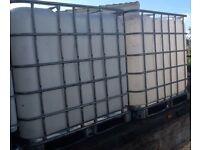 IBC 1000L Storage Tanks X 2 - £45 Each
