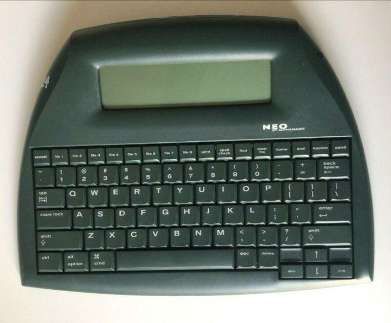 Neo Alphasmart Word Processer Keyboard By Renaissance Learning