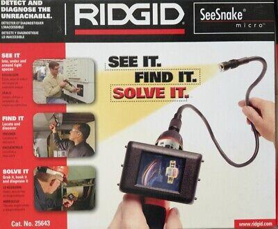 Ridgid Ca-100 Inspektionskamera Seesnake Micro Ca100 Inspection Camera