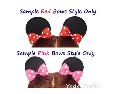 Mouse Ears Mini Ears Hair Clips Party Birthday Costume baby girl woman mouse ear - Mini Mouse Baby Costume