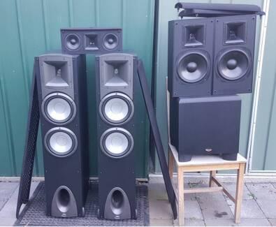 Klipsch top of range synergy F3 home theater 5.1 surround speaker