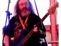 Mature Bass Player available