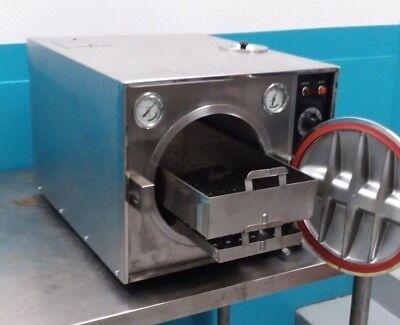 Pelton And Crane Ocr Steam Autoclavesterilizer 30 Day Warranty