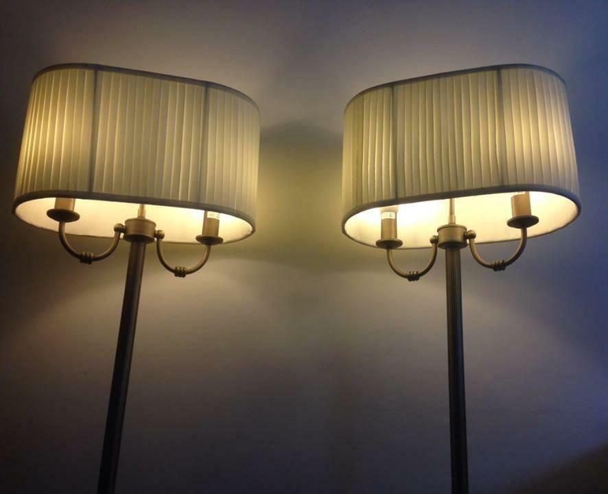 Matching floor lamps in tollcross glasgow gumtree for Industrial floor lamp gum tree
