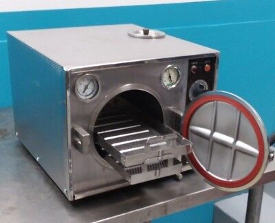 Pelton And Crane Ocm Steam Autoclavesterilizer 30 Day Warranty