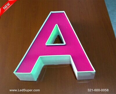 New Led Channel Letters Business Sign - 10 - Custom Made