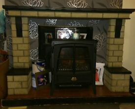 Fire surround £60 Ono