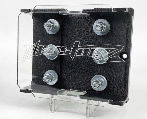 Heavy Duty ILL Customz 3 Spot Triple Lug Style ANL Fuse Block Fuse Holder