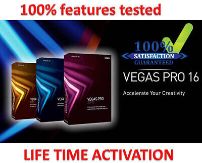 Sony Vegas Pro 16 - Windows Video Editing Software - Lifetime License✔️
