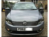 Vw passat estate bluemotion diesel fsh low miles cheap tax great car