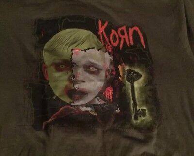 KORN s/s 2 Sided 2006 Tour T-shirt Rare Mens 2XL