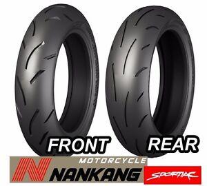 Nankang Motorcycle Tire WF-2 Combo Set Front  120/70ZR17 Rear 190/55ZR17 705+708