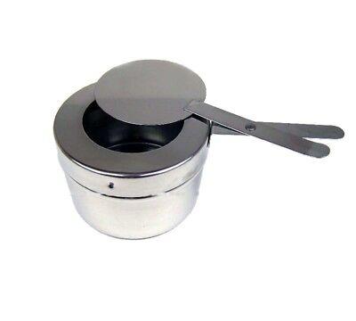 Chafing Dish Speisenwärmer Brennpastebehälter Brennpaste Behälter Deckel 10x