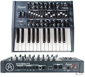 Arturia Minibrute synthesizer for a Microbrute
