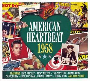 AMERICAN-HEARTBEAT-1958-NEW-SEALED-2CD-Elvis-Presley-Buddy-Holly-Bobby-Darin