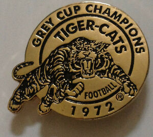 Wanted: Hamilton Tiger cats 1972 Grey Cup Champs Lapel Pin