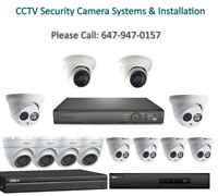 CCTV Security Camera System and Installation Discounted Packages