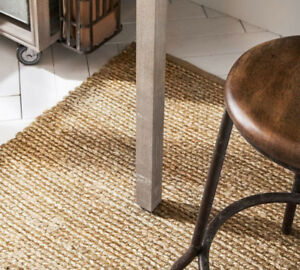 New Lower Price Pottery Barn Jute Rugs - Natural 150$