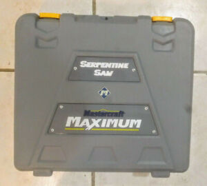 Mastercraft Maximum Serpentine Saw Kit