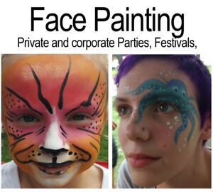 Face Painting - professional artists.