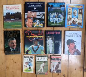 11 Yorkshire cricket books