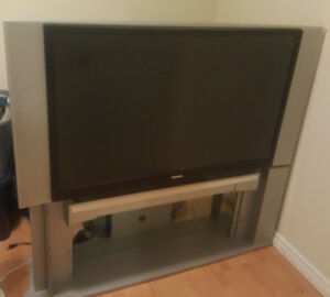 """Toshiba 52"""" DLP HDTV With Stand"""