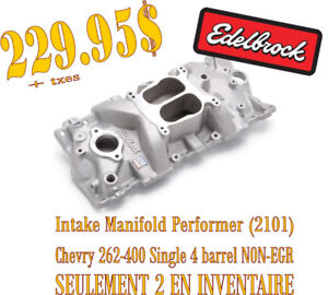 SPECIAL-Edelbrock Intake Manifold Performer Chevy 262-400 (2101)
