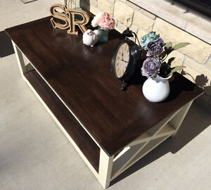 Rustic Country Chic Coffee tables with matching side tables Belleville Belleville Area image 4