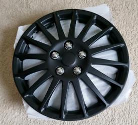 "Premium Wheel Covers 15"" - Brand New"